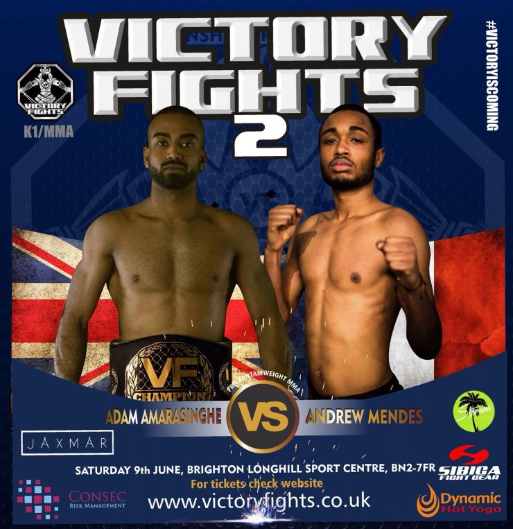 Adam Amasinghe vs Andrew Mendes Victory Fights