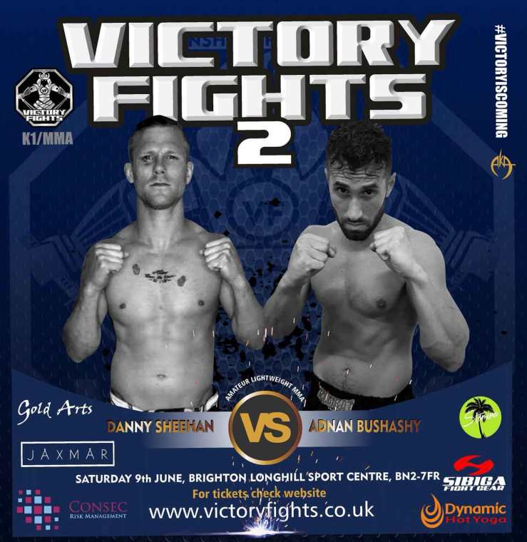 Danny Sheehan Vs Adnan Bushashy Victory Fights, Brighton Sussex