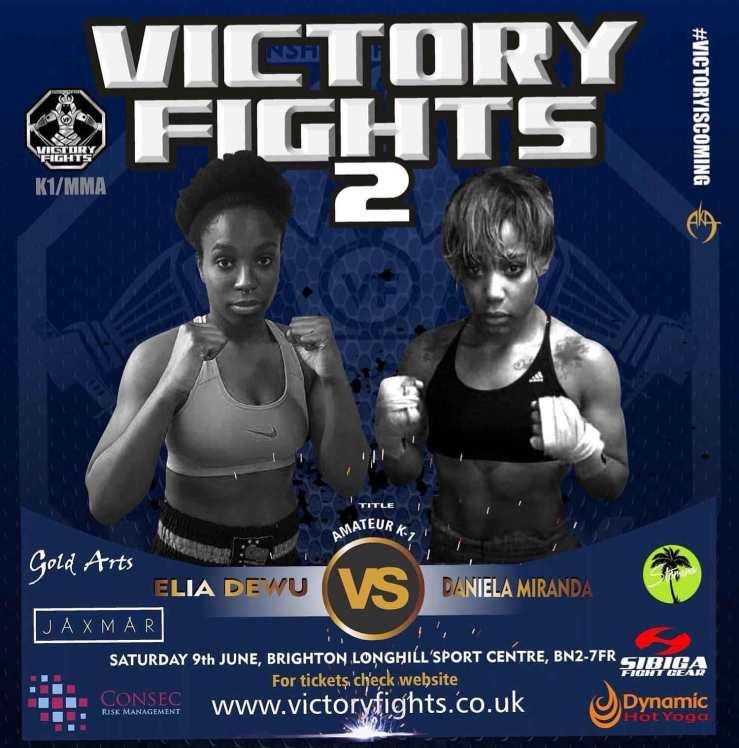 Elia Dewu vs Daniela Miranda Victory Fights Brighton K1