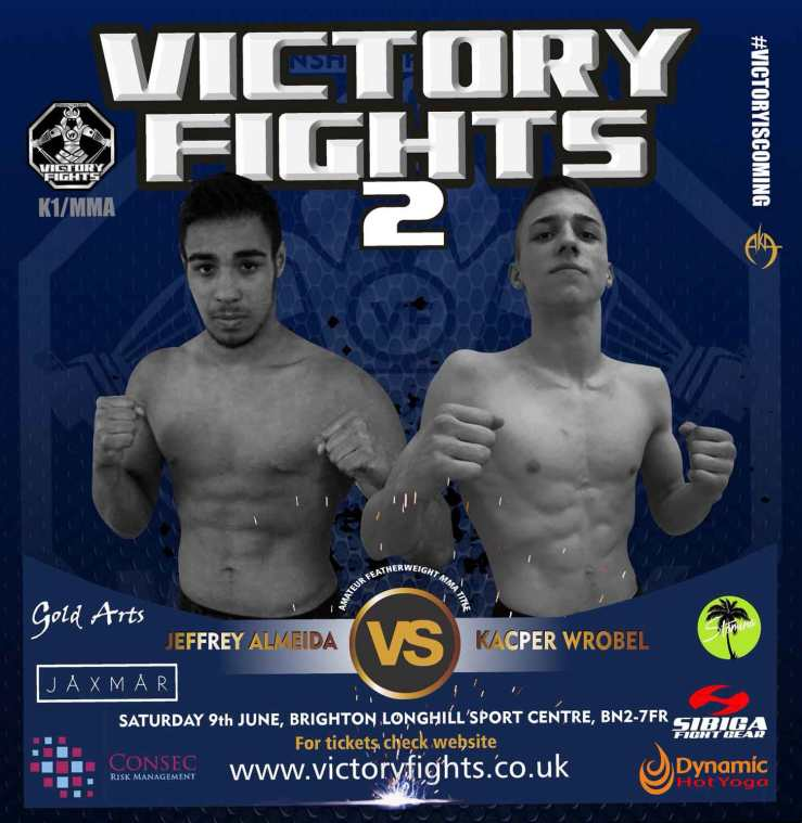 Jeffrey Almeida Vs Kacper Wrobel MMA Victory Fights
