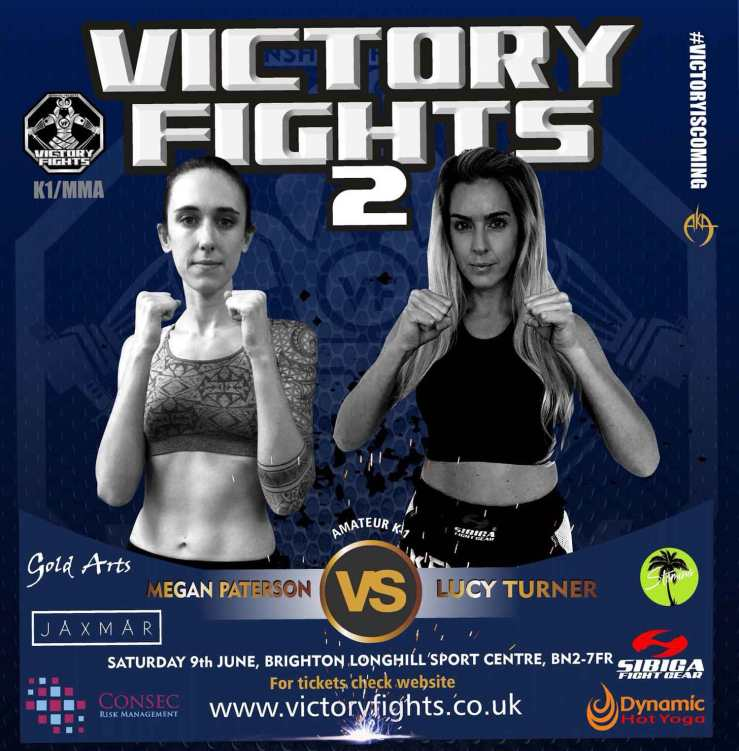 Megan Paterson vs Lucy Turner Victory Fights Brighton Sussex