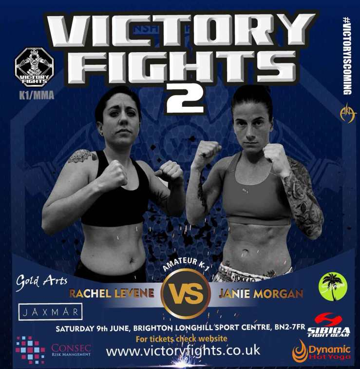 Rachel Levine Vs Janie Morgan K1 Victory Fights Brighton Sussex
