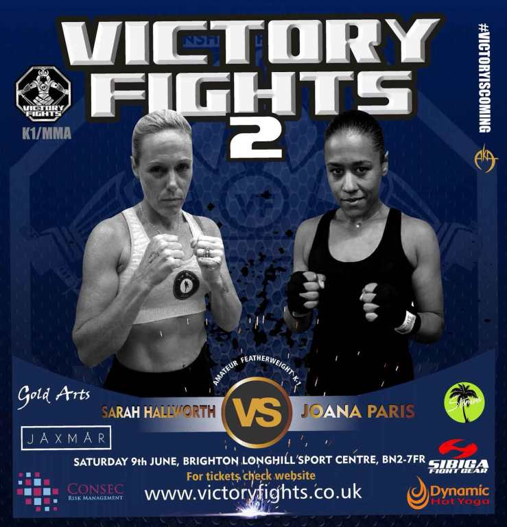 Sarah Hallworth Vs Joana Paris K1 Victory Fights