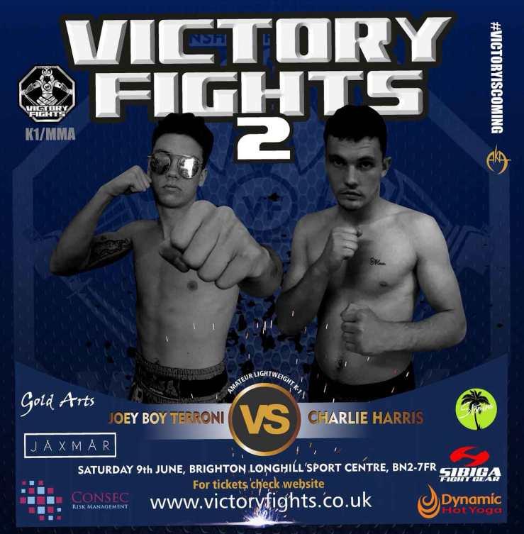 Joey Boy Terroni vs Charlie Harris Victory Fights Brighton Sussex