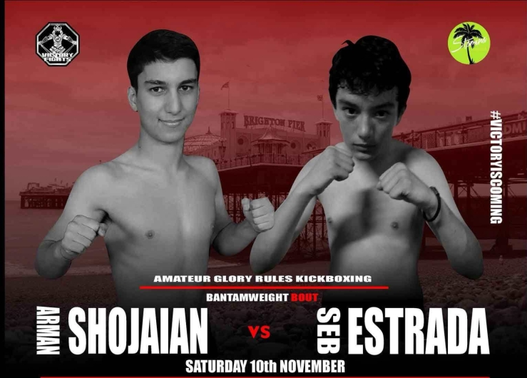 Arman Shojaiain vs Seb Estrada, Victory Fights Brighton