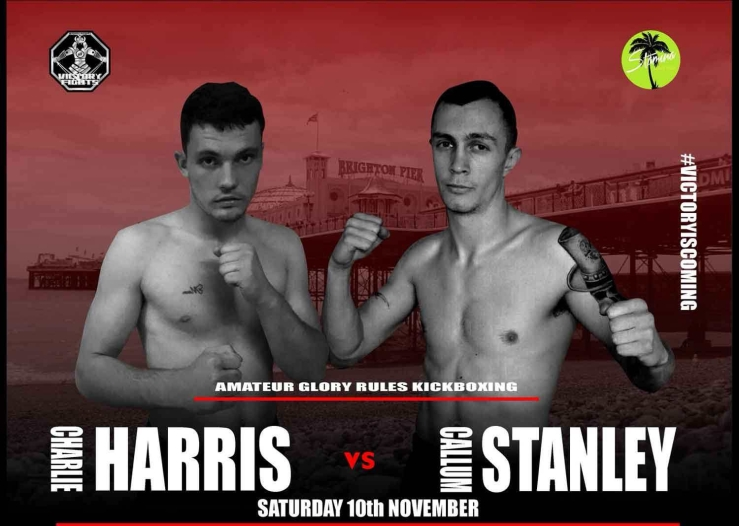 Charlie Harris Vs Callum Stanley Victory Fights 3 Brighton Sussex