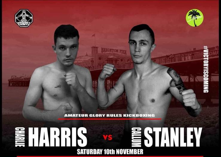 Charlie Harris Vs Callum Stanley Victory Fights 3 Brighton Sussex