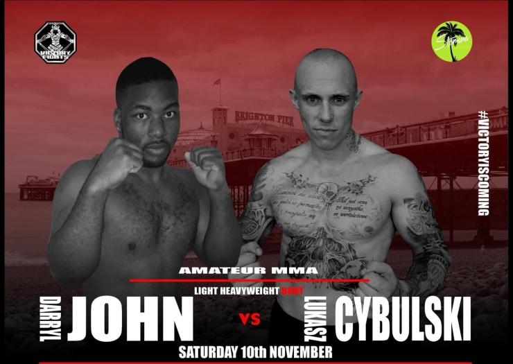 Darryl John Vs Lukasz Cybulski MMA Victory Fights 3 Sussex