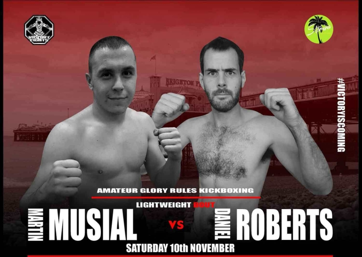 Martin Musial Vs Dan Roberts Victory Fights 3
