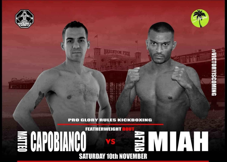 Matteo Capobianco Vs Aftab Miah Victory Fights 3 Glory Rules Kickboxing Brighton