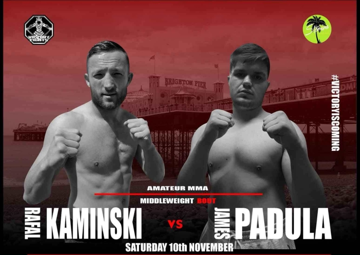 Rafal Kaminski vs. James Padula Victory Fights 3 MMA Brighton Sussex
