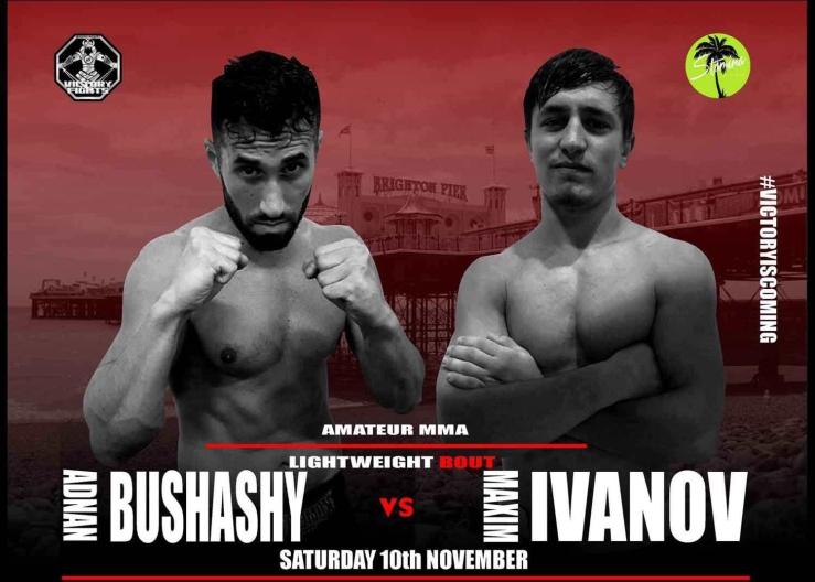 Adnan Bushashy vs Maxim Ivanov MMA victory Fights 3