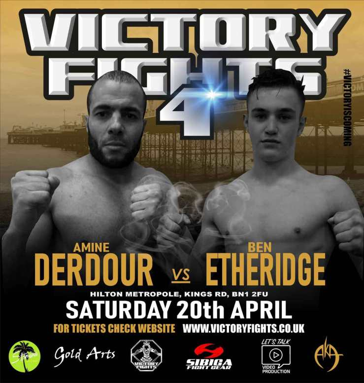 Amine Derdour Vs Ben Etheridge MMA Victory Fights 4