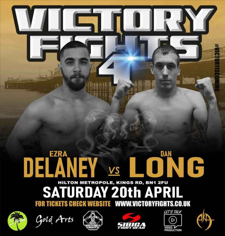 Ezra Delaney Vs Dan Long Victory Fights 4