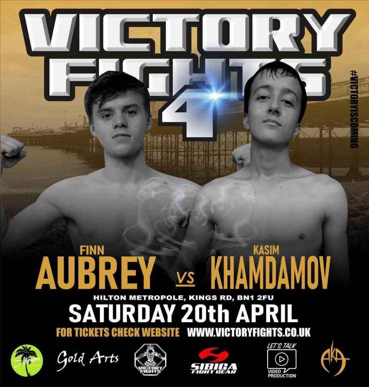Finn Aubrey vs. Kasim Khamdamov Victory Fights 4