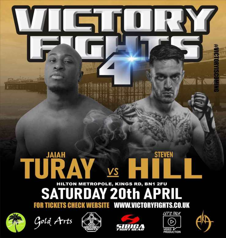 Jaiah Turay vs. Steven Hill Victory Fights 4