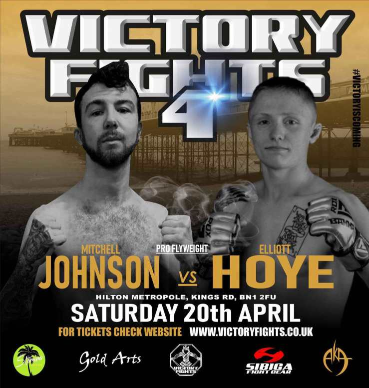 Mitchell Johnson Vs Elliott Hoye Victory Fights 4 Brighton Sussex