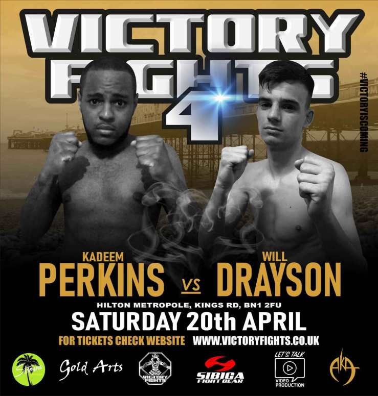 Kadeem Perkins V Will Drayson Victory Fights 4