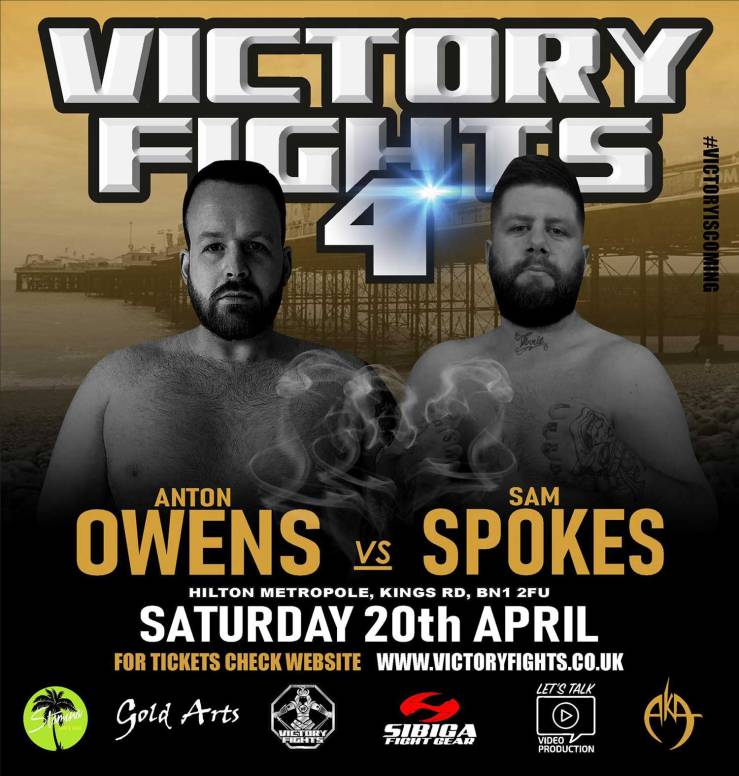 Anton Owens Vs Sam Spokes Victory Fights 4 MMA
