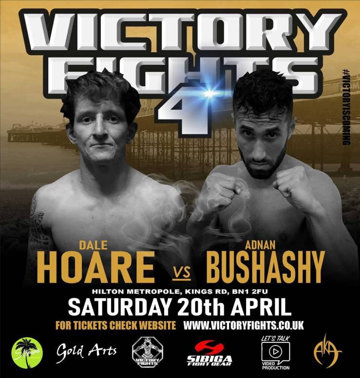 Dale Hoare Vs Adnan Bushashy MMA Victory Fights 4
