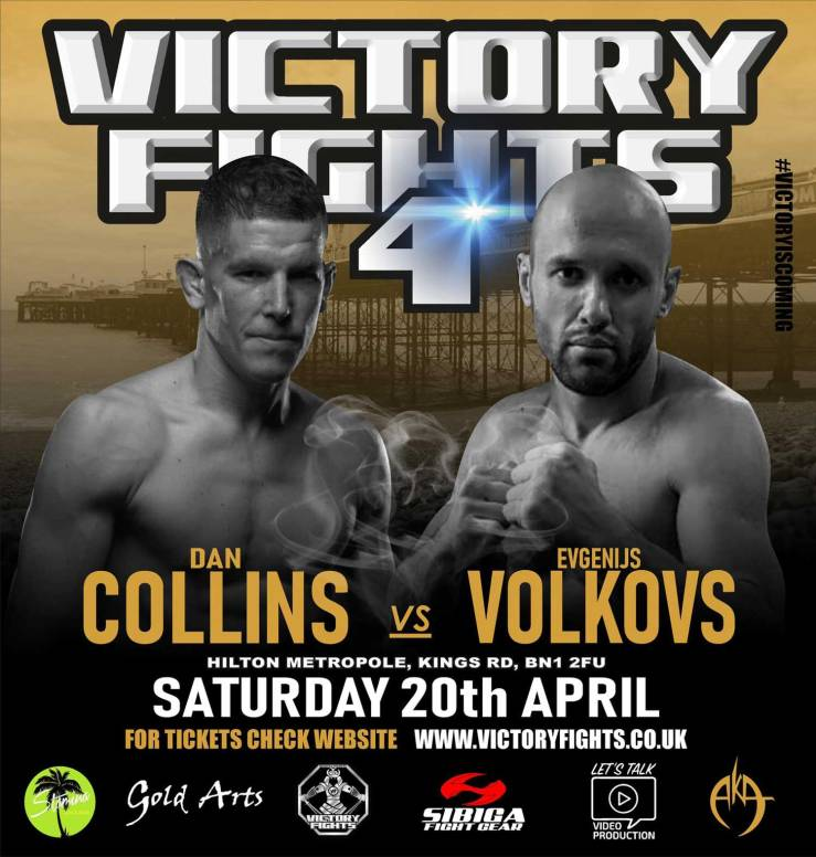Dan Collins Vs Evgenijs Volkovs