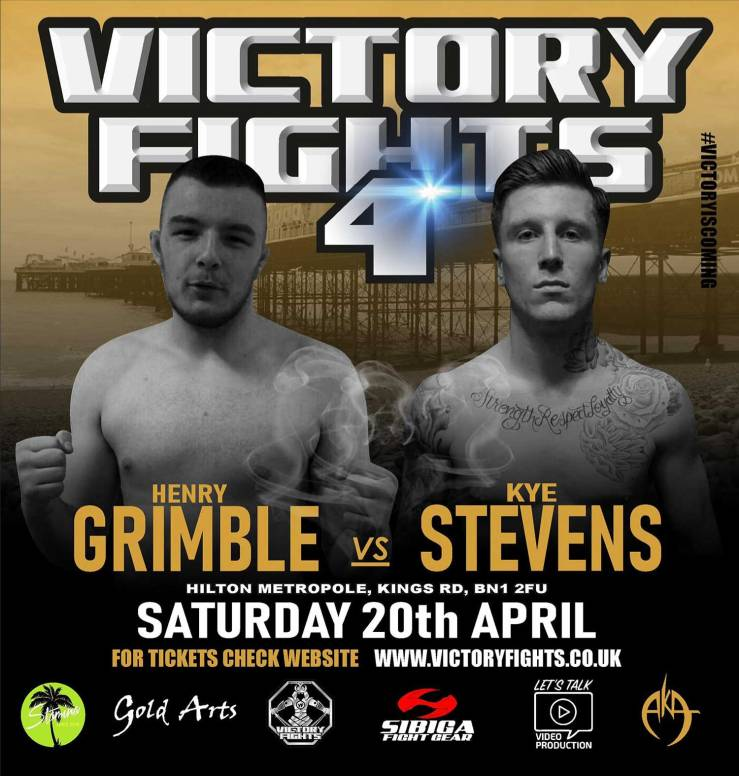 Henry Grimble Vs Kye Stevens Victory Fights 4 MMA