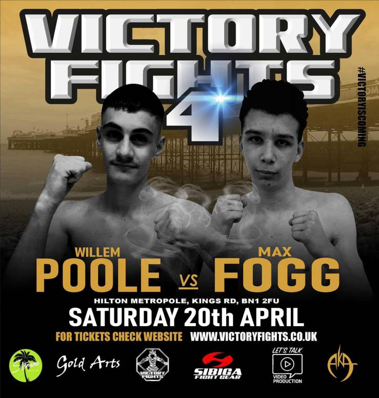 Willem Poole Vs Max Fogg Victory Fights 4