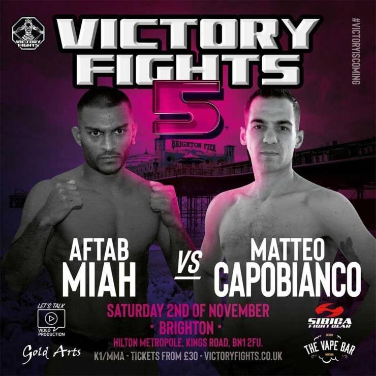 Aftab Miah vs Matteo Capobianco 2