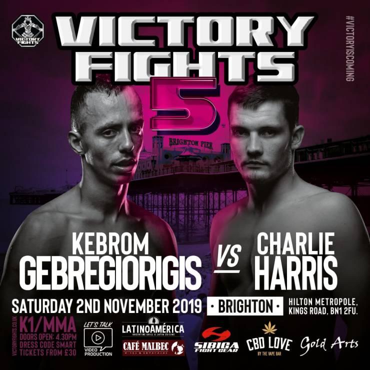 Kebrom Gebregiorgis Vs Charlie Harris Victory Fights 5