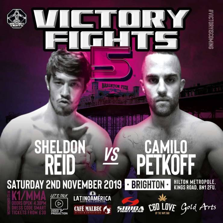 Sheldon Reid Vs Camilo Petkoff Victory Fights 5