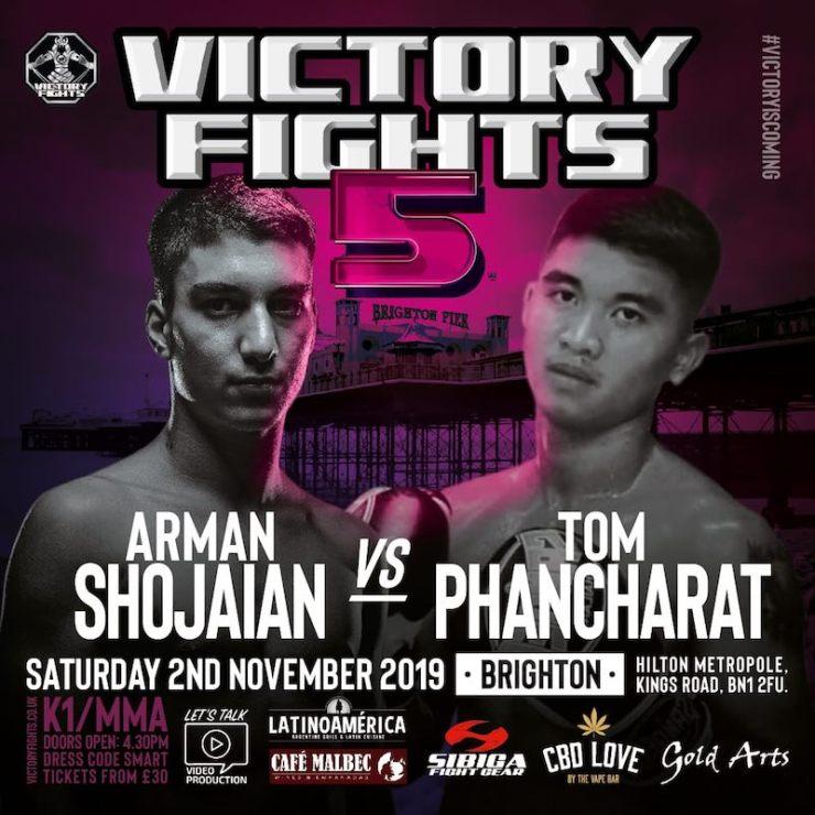 Arman Shojaian vs Tom Phancharat Victory Fights 5