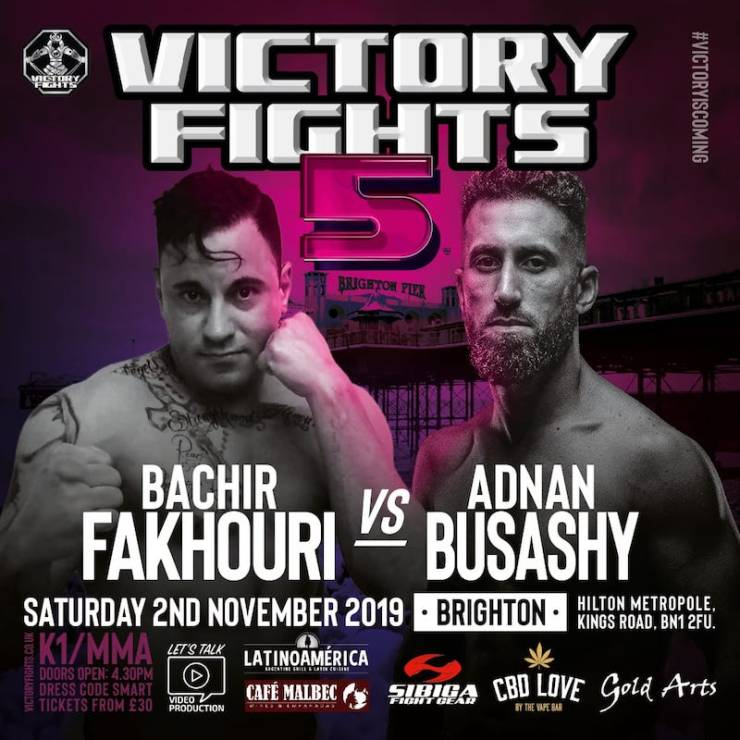 Bachir Fakhouri Vs Adnan Busashy Victory Fights 5