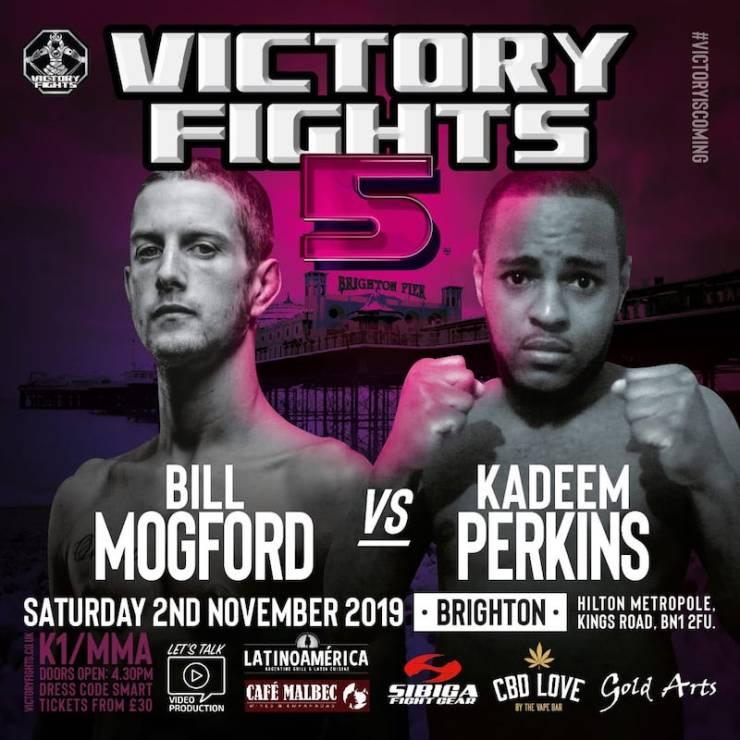 Bill Mogford vs Kadeem PerkinsVictory Fights 5