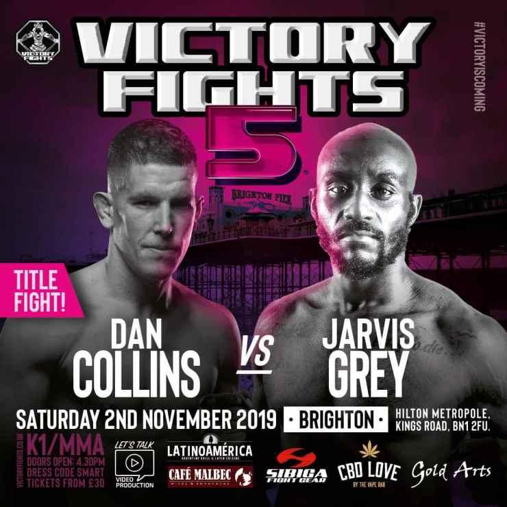Dan Collins vs Jarvis Grey Victory Fights 5