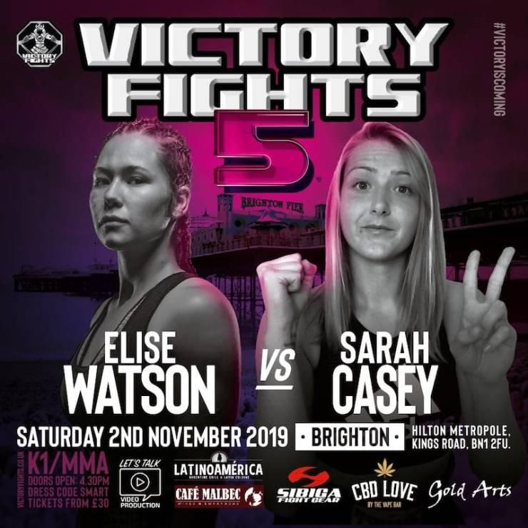 Elise Watson vs Sarah Casey Victory Fights 5