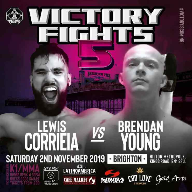 Lewis Corrieia Vs Brendan Young Victory Fights 5