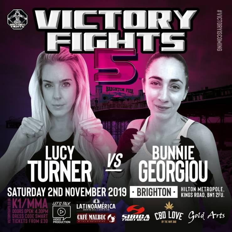 Lucy Turner Vs Bunnie Georgiou Victory Fights 5