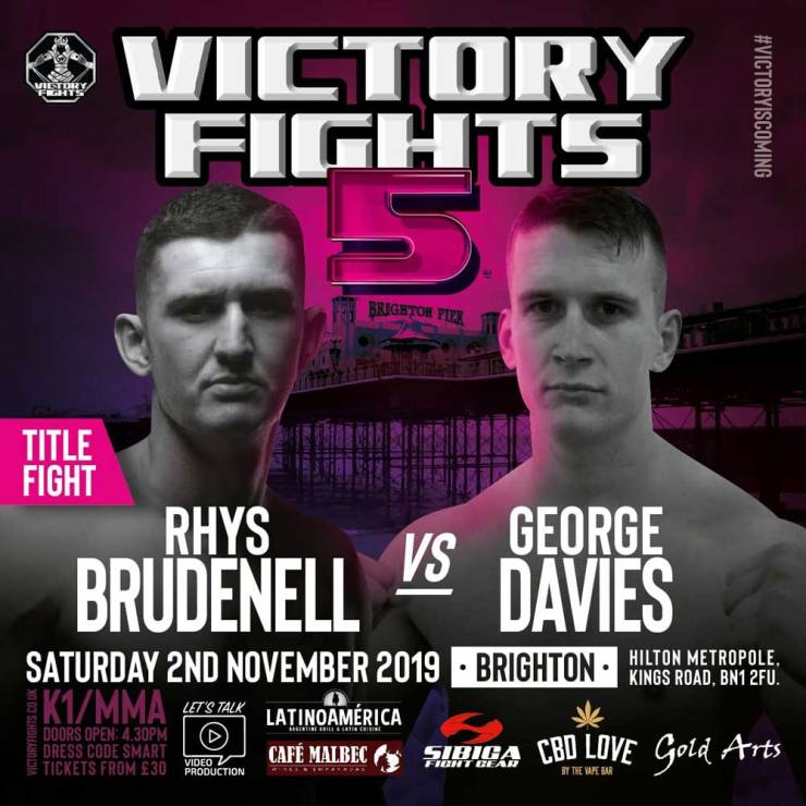 Rhys Brudenell Vs George Davies Victory Fights 5