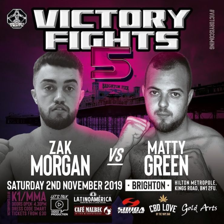 Zak Morgan vs Matty Green Victory Fights 5