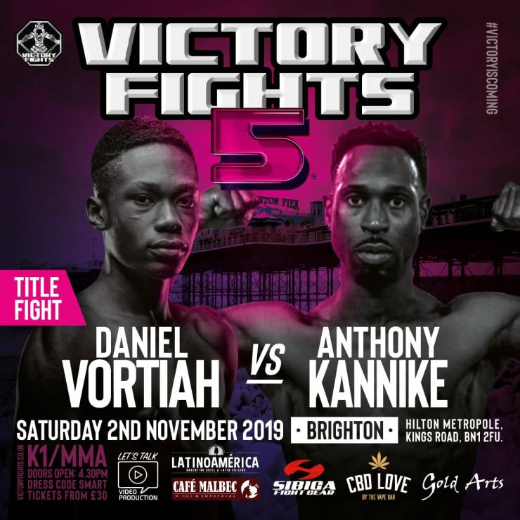 Daniel Vortiah vs Anthony Kannike Victory Fights 5