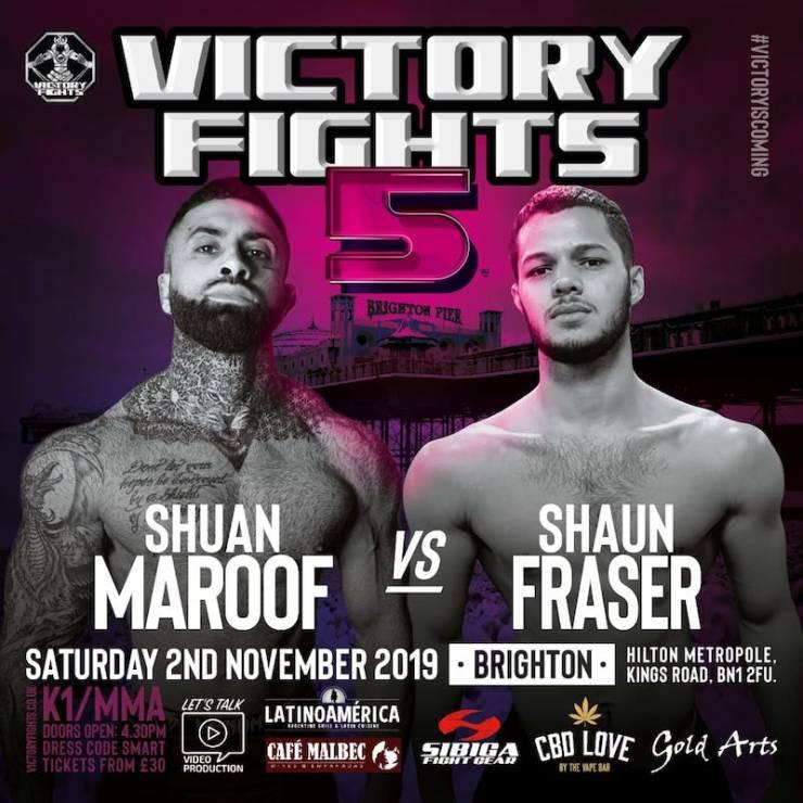 Shaun Maroof vs Shaun Fraser Victory Fights 5